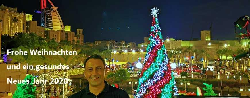 Christmas und New Year 2019 in Dubai