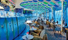 Dubai Burj Al Arab Sky View Bar Blick 1
