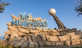 Yas Waterworld Eingang in Abu Dhabi